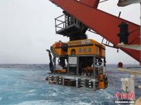"""中国自主研发无人潜水器""""海龙III""""成功完成下潜任务"""