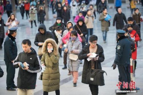 """公务员省考扎堆:广东今日笔试 22省份将""""联考"""""""
