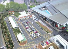 全国最大智能停车场今日正式启用