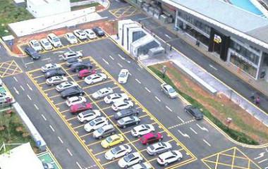 全国最大智能停车场正式启用