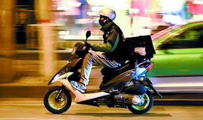 淄川交警约谈外卖企业促骑手持证上路