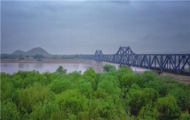 曾由詹天佑选址的百年黄河大桥 至今仍在使用