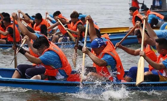 济南市第二十届明湖龙舟文化节盛会在即
