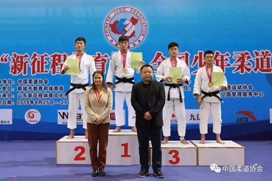 2019年全国少年柔道锦标赛山东获6金