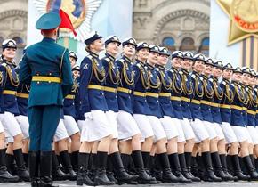 俄罗斯在红场举行卫国战争胜利74周年阅兵