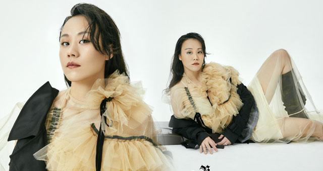 赵芸蕾拍摄时尚写真 时尚大气尽显御姐风范