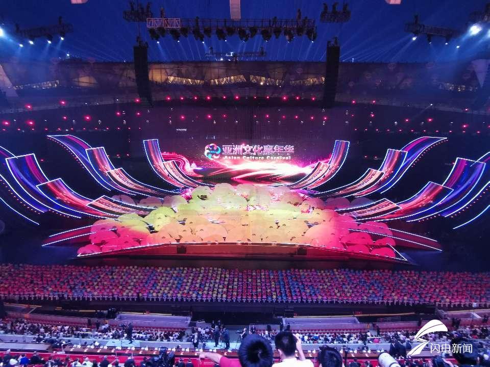 最大三维LED灯!亚洲文化嘉年华精彩上演