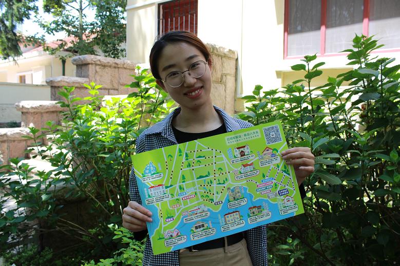 """扫码听解说 青岛""""语你畅游""""最美八大关景区地图上线"""