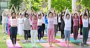 白鹭湾瑜伽节 掀起全民健身热潮!