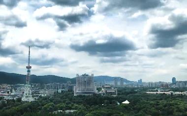 1分钟延时视频带你看济南风云变幻
