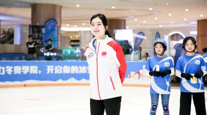 滑冰小姐姐李子君了解一下 长相甜美气质出众