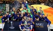 欧联杯-切尔西4-1大胜阿森纳夺冠 阿扎尔梅开二度吉鲁传射