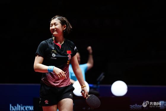 中国乒乓球公开赛-山东选手陈梦4-1战胜朱雨玲 闯进决赛