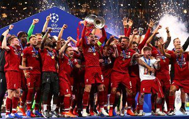 高清组图:利物浦2-0热刺夺得第6次欧冠冠军