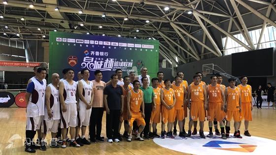 2019泉城杯篮球赛中老年组落幕 琦泉队夺得冠军