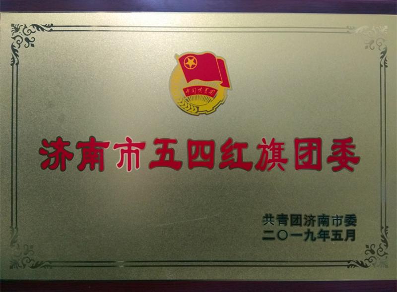 济南市第二人民医院团委被授予2018年度济南市五四红旗团委荣誉称号_副本