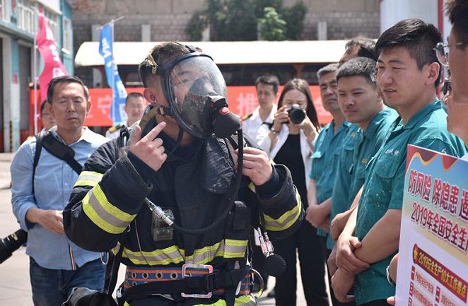 """青岛多部门联合开展""""防风险、除隐患、遏事故""""消防疏散演练"""