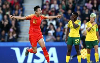 2019法国女足世界杯小组赛C组:中国女足1-0南非女足