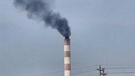 咋回事!华电淄博热电厂区烟囱冒出黑烟