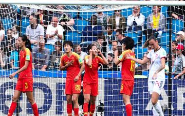 女足世界杯中国0:0逼平西班牙 晋级16强