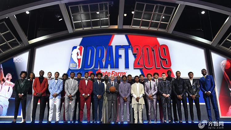 2019年NBA选秀大会:锡安状元 莫兰特榜眼