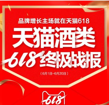 天猫酒类618终极战报公布 青岛啤酒位列啤酒品类双第一