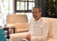 """""""大咖""""王石来了 他为日照体育产业发展献出 """"锦囊妙计"""""""
