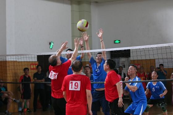 济宁市第五届老年人气排球比赛完美收官