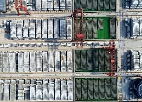 高空俯瞰世界公轨合建最大直径的隧道盾构管片