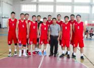 日照洁晶篮球队获得日照市第六届运动会冠军加冕四连冠