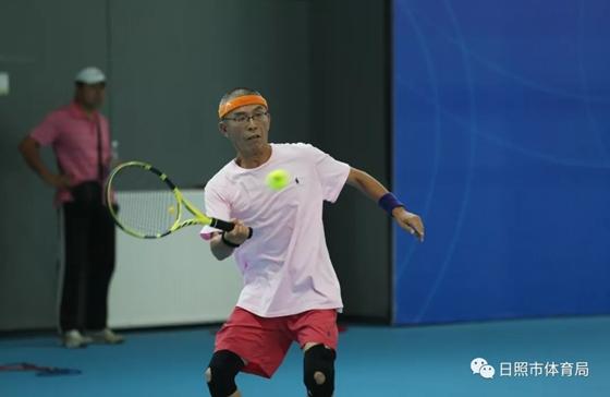 """2019""""安泰杯""""ITF国际元老网球巡回赛日照站正式开赛"""