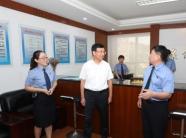 王魯明到市中級人民法院、市人民檢察院走訪調研