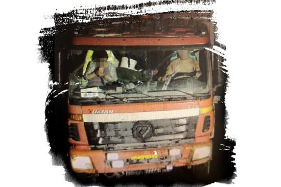 石料车凌晨肇事致人死亡逃逸 张店交警深夜追踪10小时破案