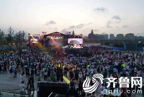 青岛开发区联通顺利保障凤凰音乐节