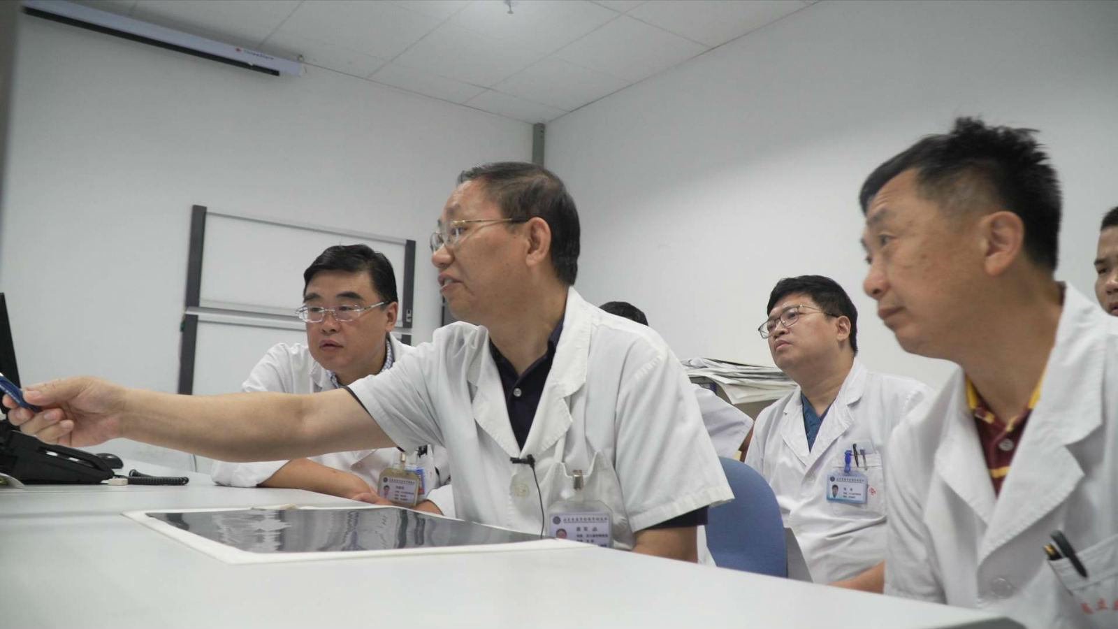 阻断肝癌血供 八旬老人重获新生