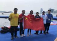 创历史!山东济南姑娘辛鑫夺世锦赛女子10公里游泳金牌
