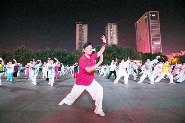 济宁六艺太极拳培训再起热潮