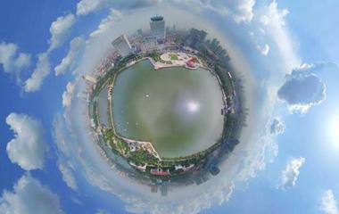 720度VR | 小行星视角从16地市瞰山东