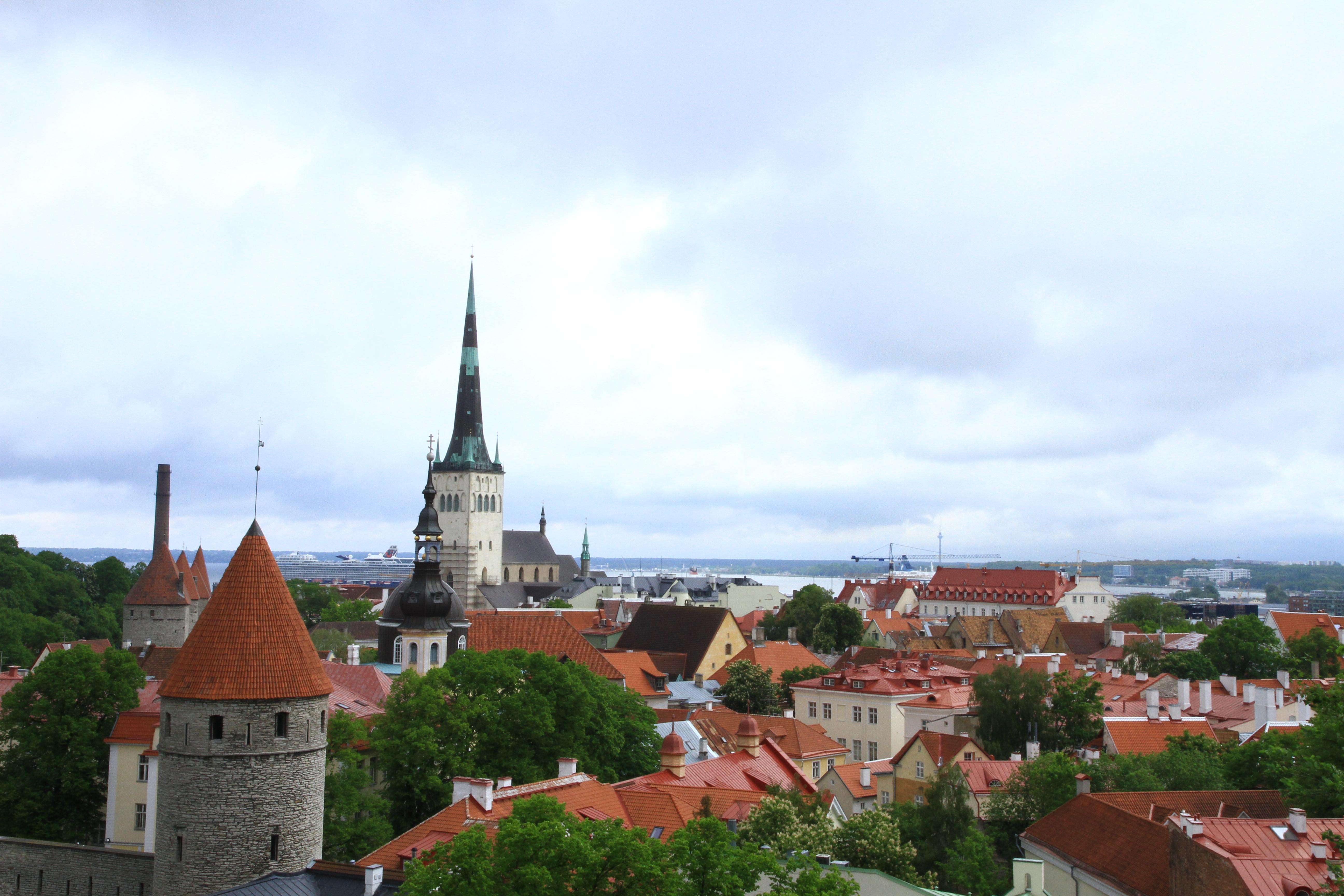 2、爱沙尼亚:俯瞰首都塔林