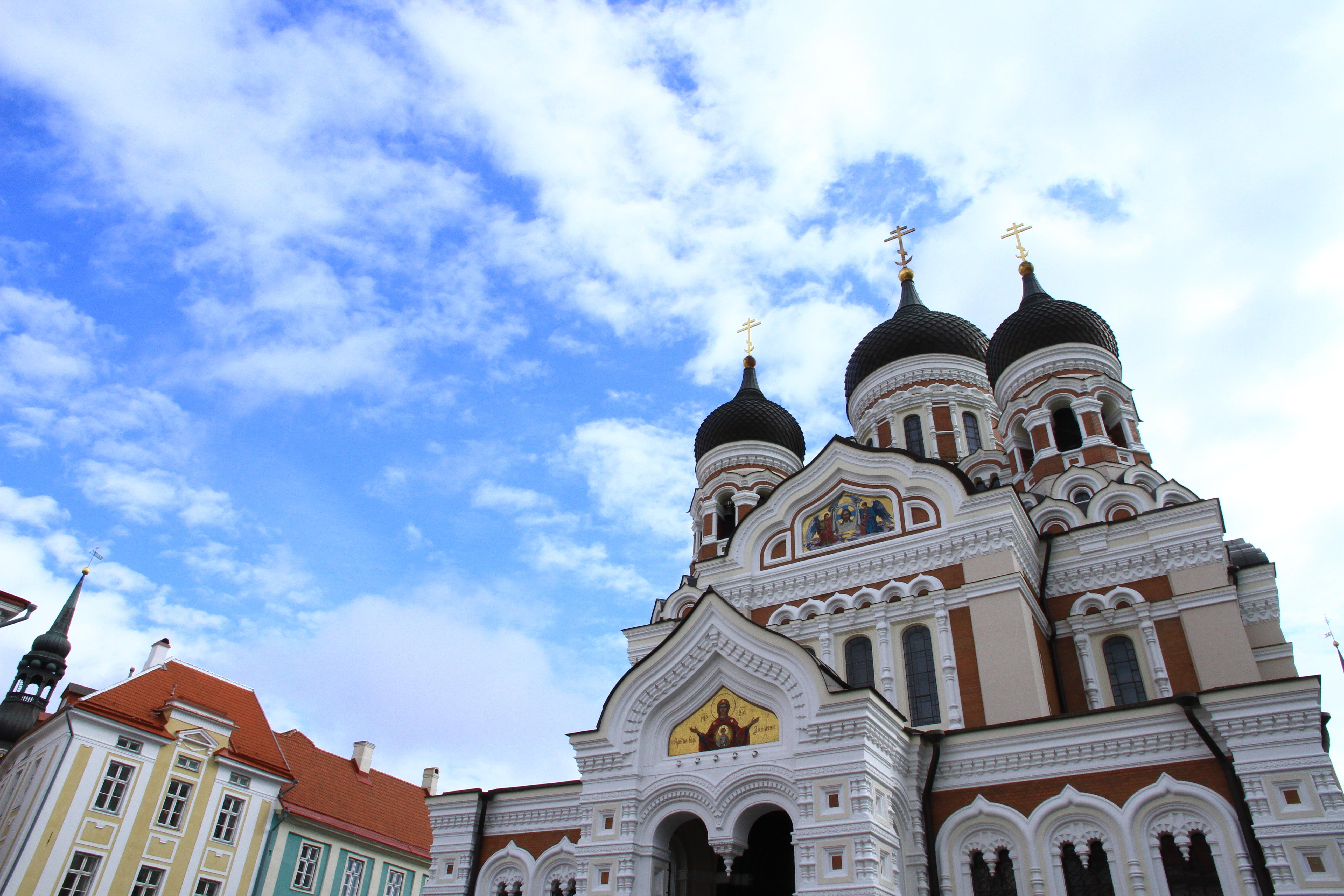 6、爱沙尼亚塔林:东正教教堂