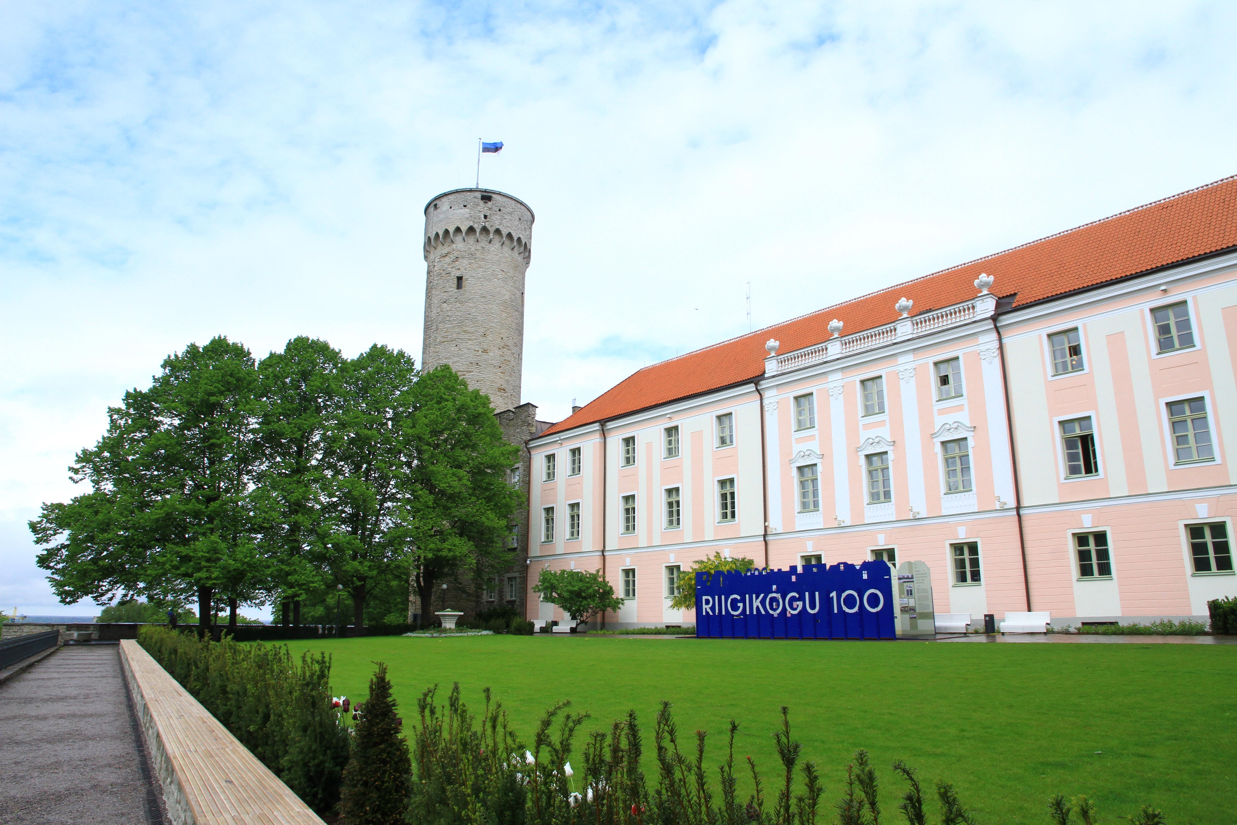 22、爱沙尼亚塔林:市政厅的古城堡