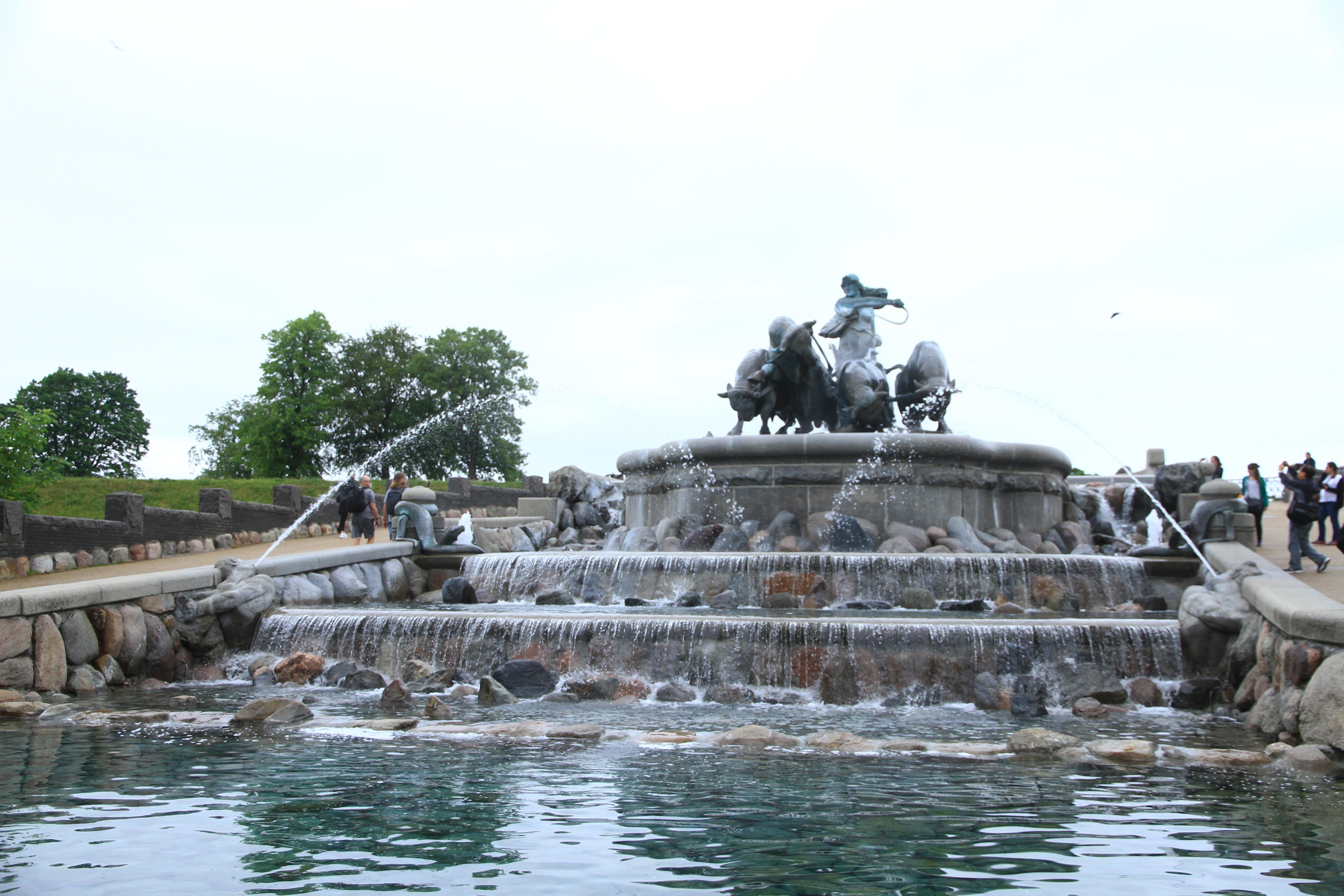 38、丹麦哥本哈根:神农喷泉
