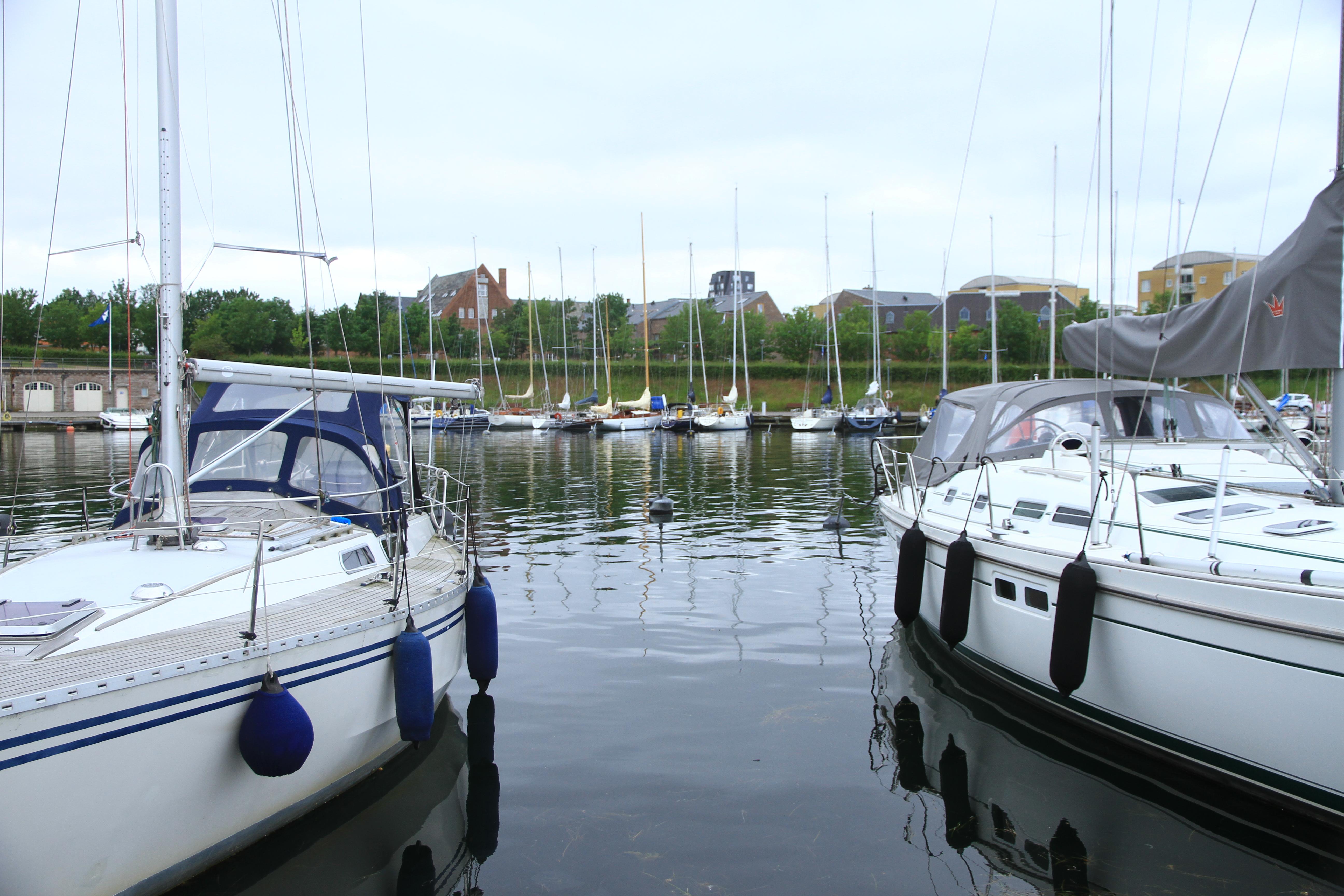 36、丹麦哥本哈根:码头游艇