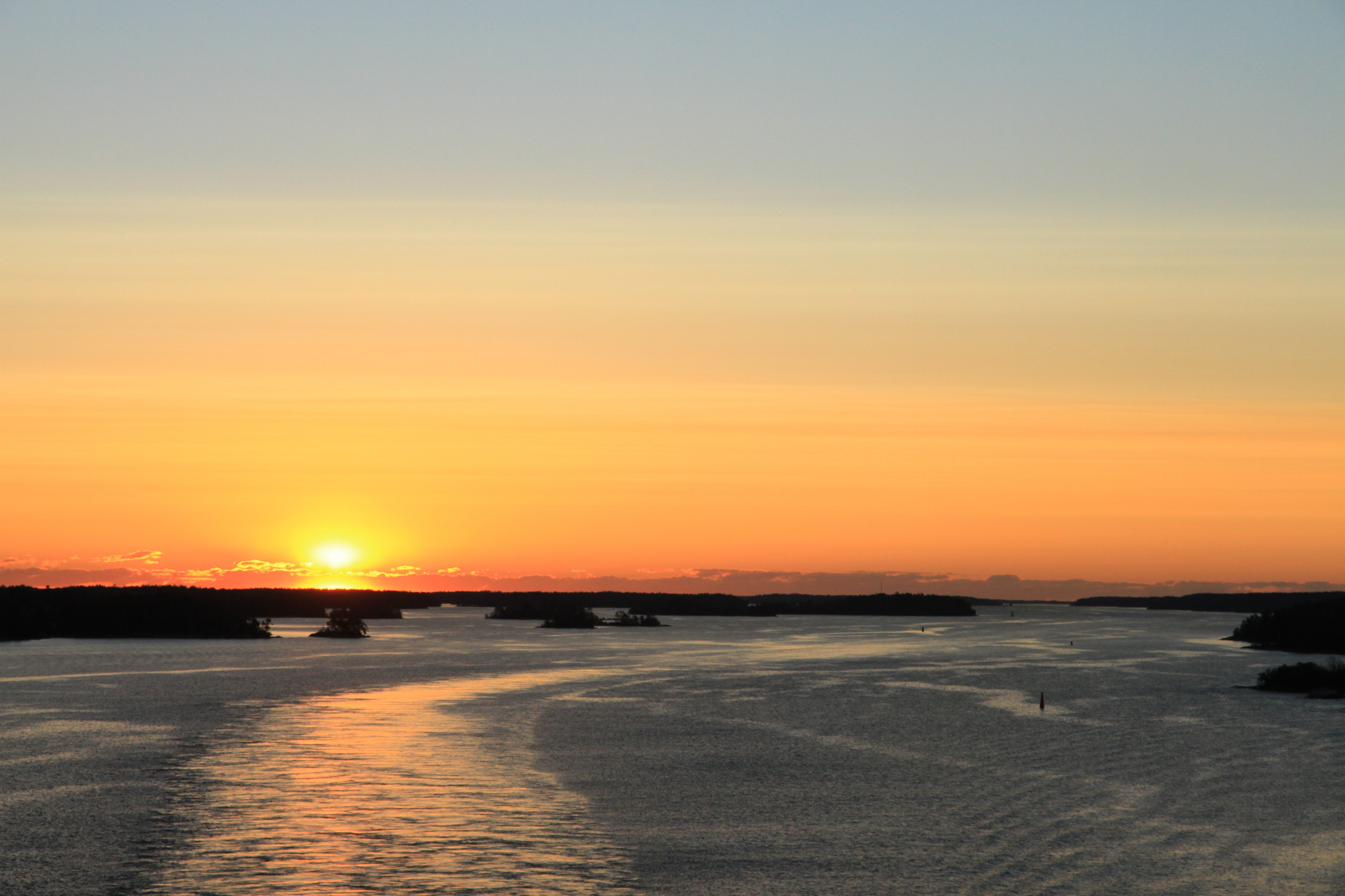 50、芬兰:波罗的海的日出