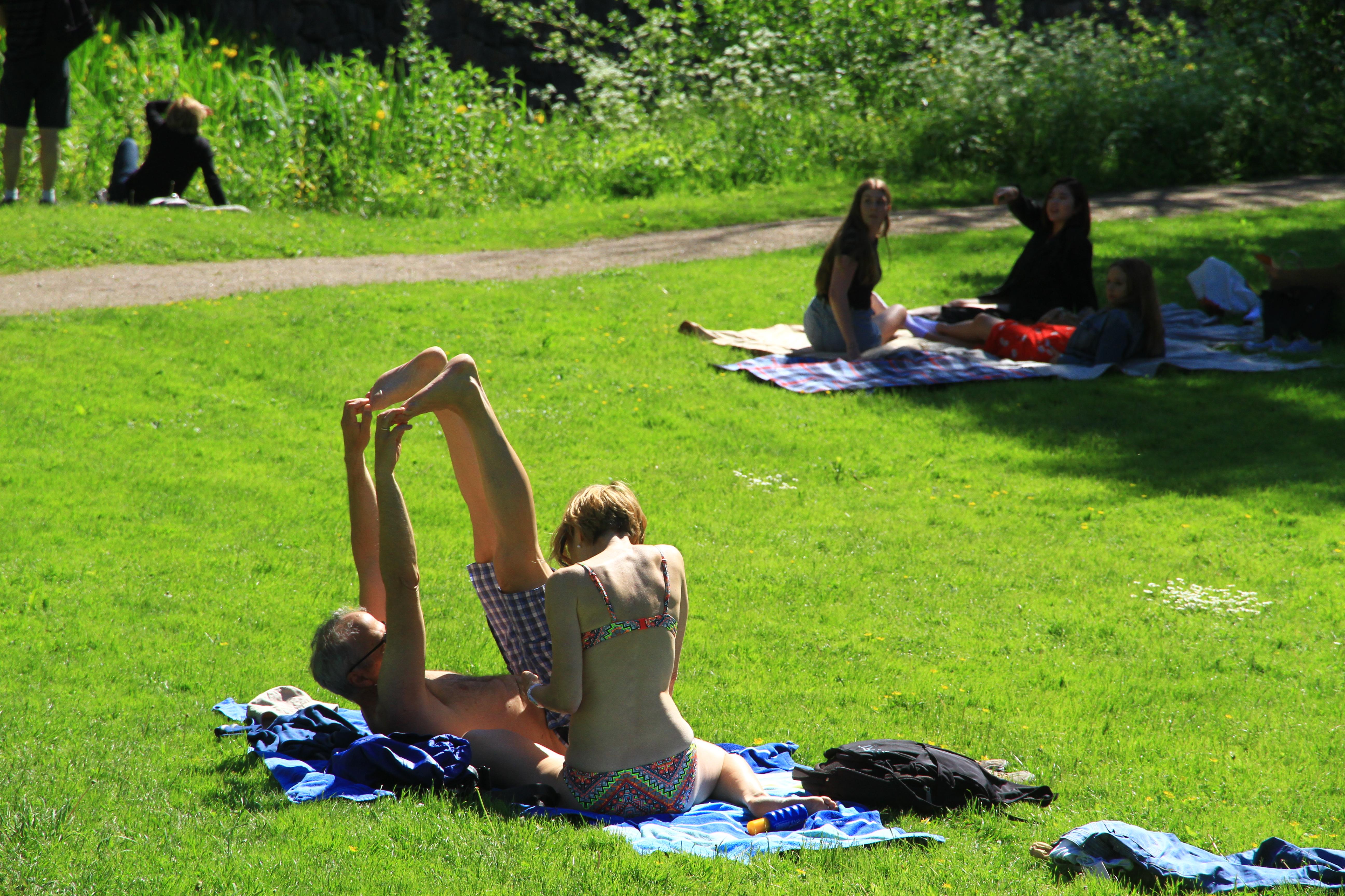 58、芬兰芬兰堡:尽情享受阳光