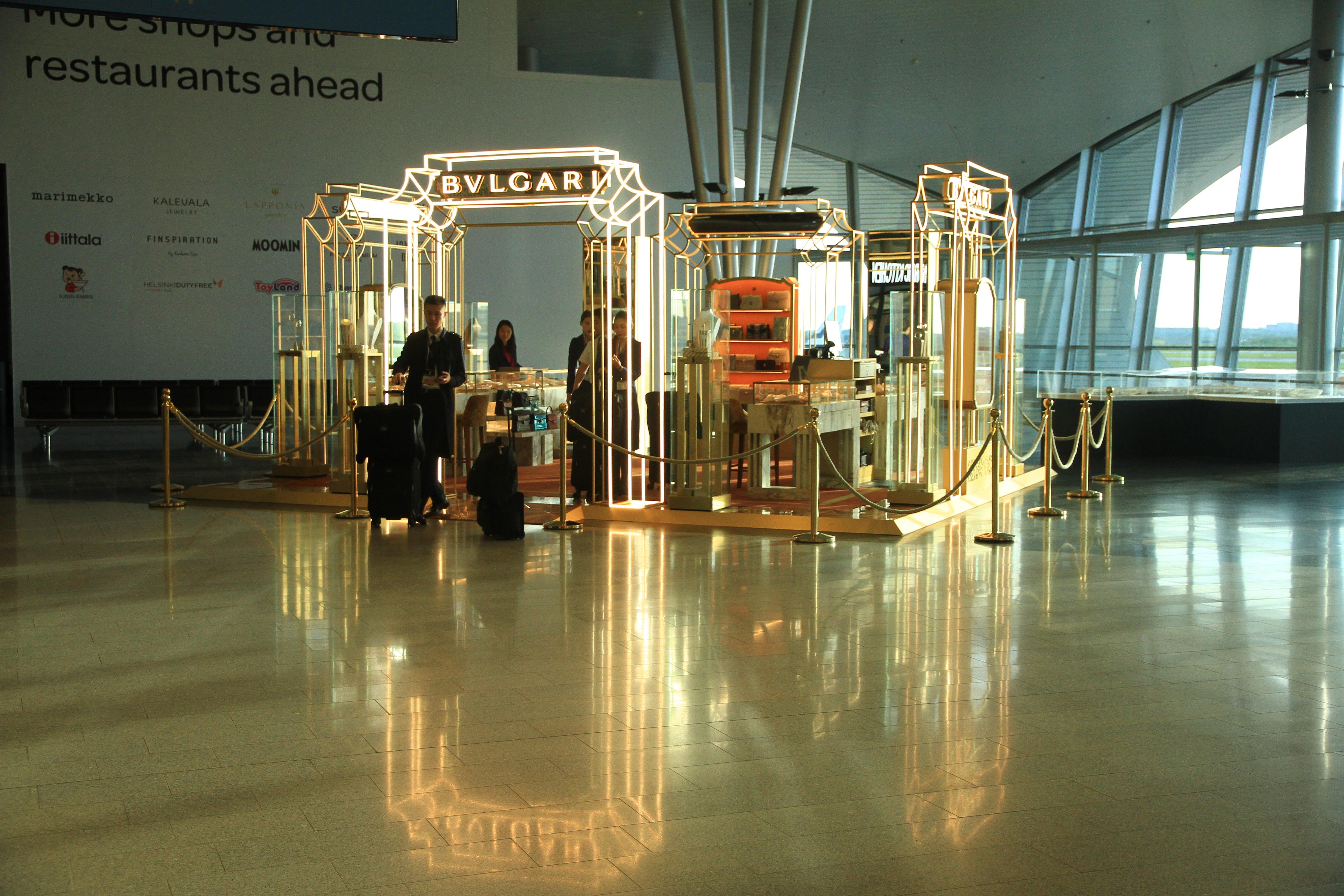 63、芬兰赫尔辛基:机场商店