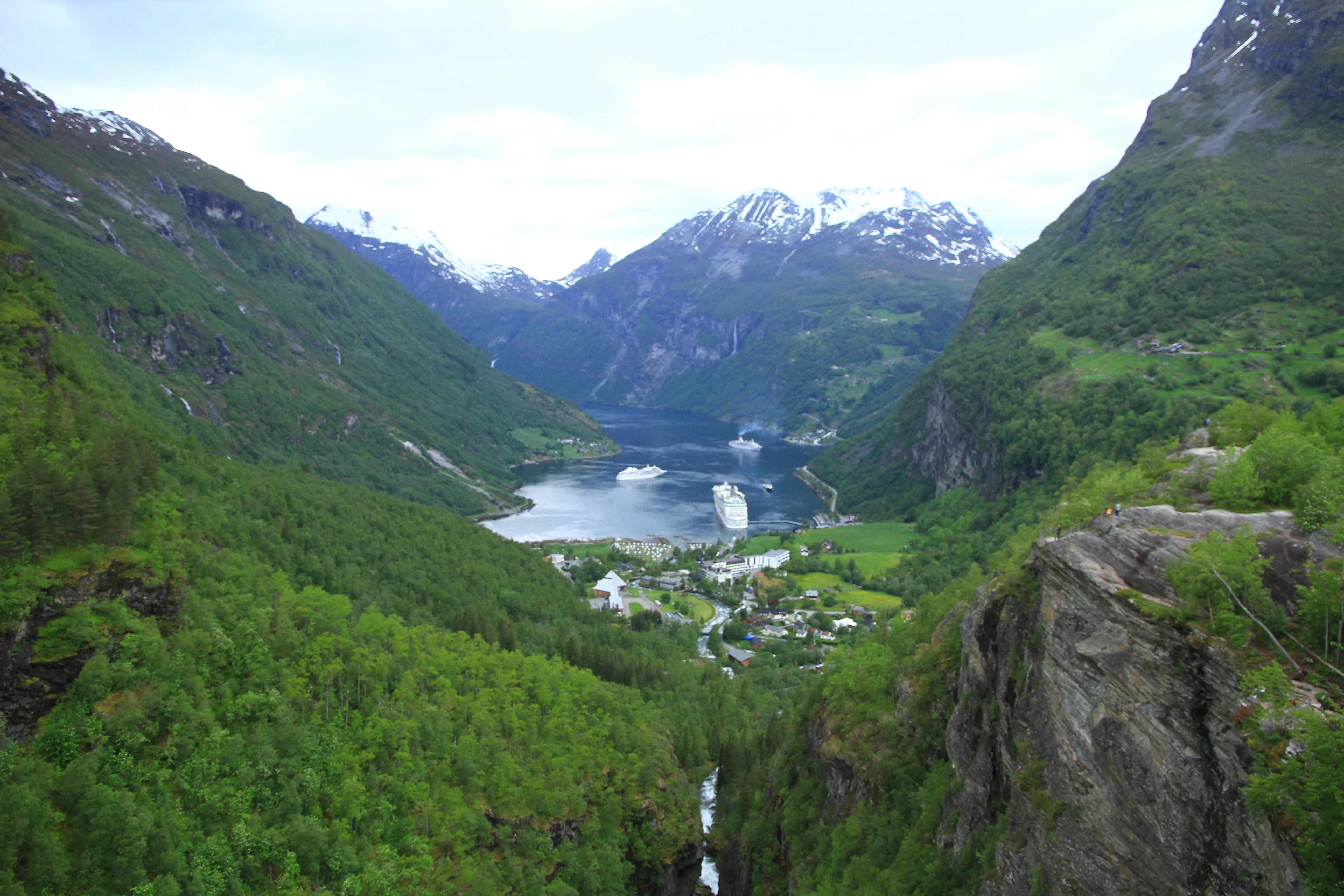 84、挪威:盖朗厄尔峡湾