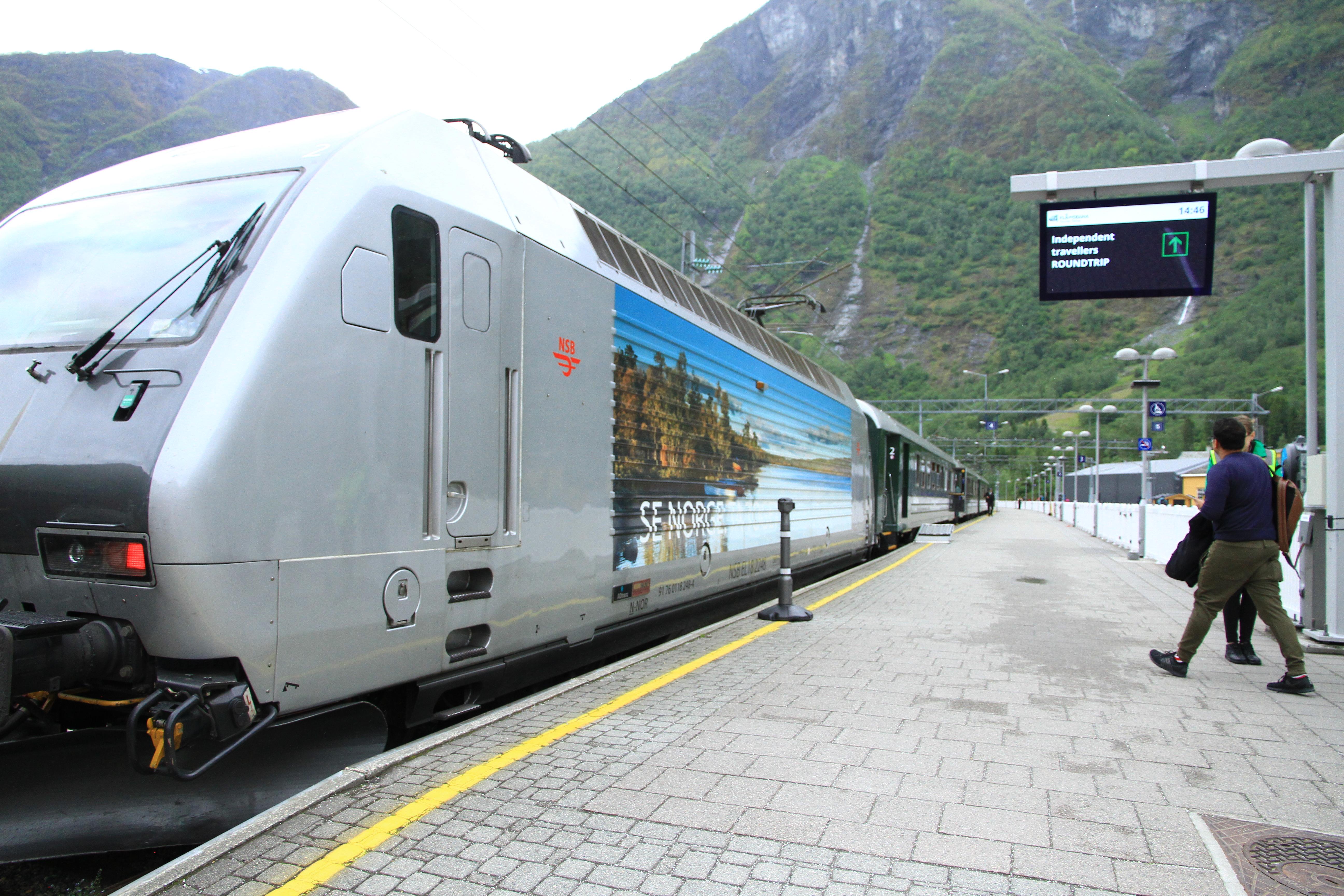 87、挪威:峡湾高山火车