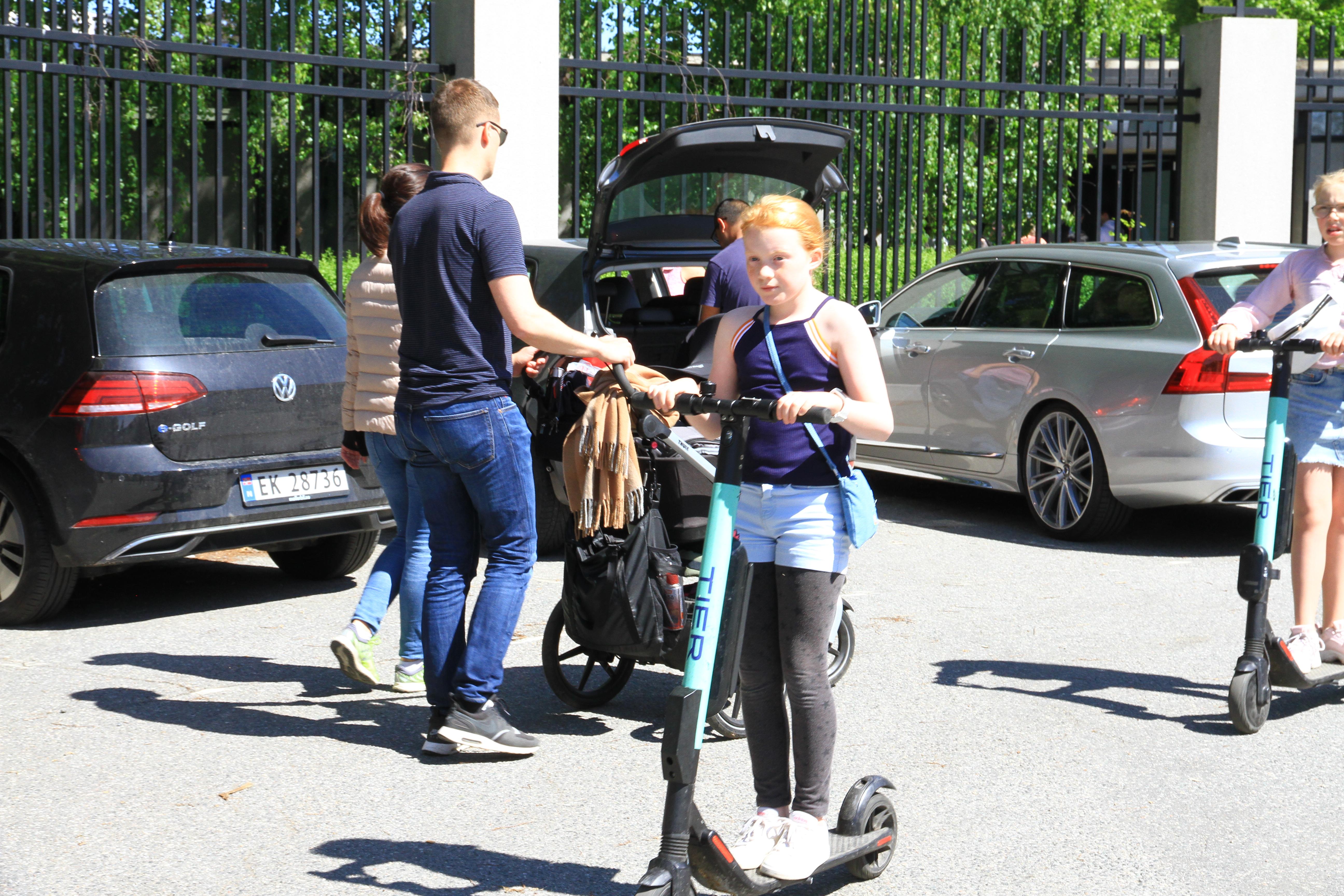 90、挪威:在北欧街头到处都有共享电动踏板车