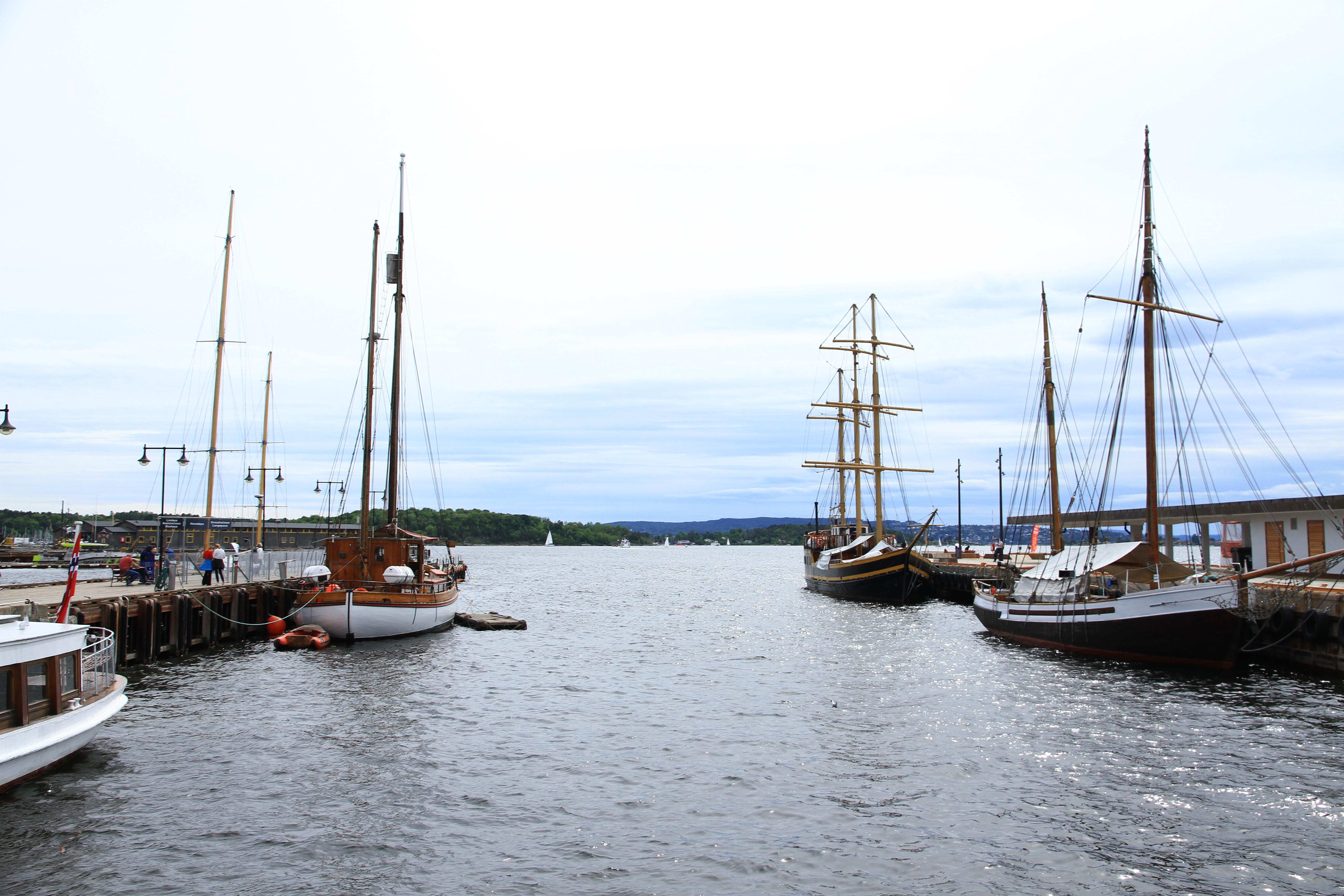 97、挪威奥斯陆:码头